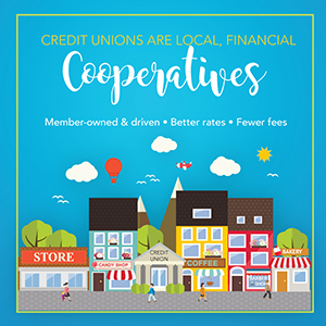 credit unions are local financial cooperatives