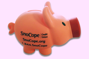 piggy bank for savings